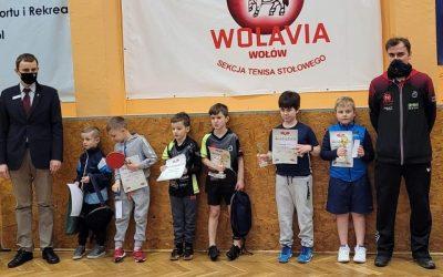 I wojewódzki turniej skrzatów tenisa stołowego Wołów