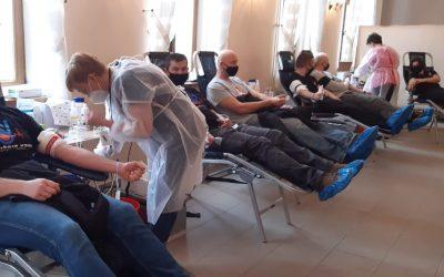 Oddawanie krwi Wołów