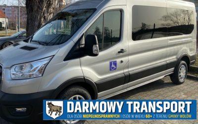 Darmowy transport Wołów
