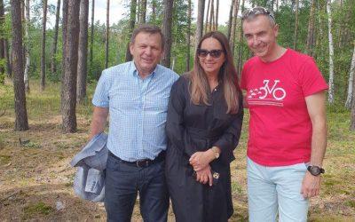 Otwarcie drogi rowerowej gruszeczka książęca wieś