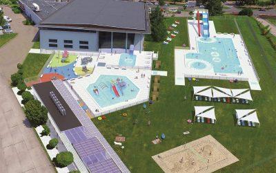 Kompleks basenów Aquasport Brzeg Dolny