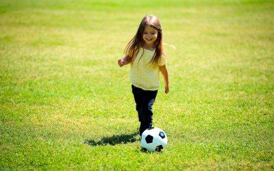 Dziecko piłka nożna