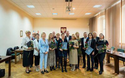 Nagrody dla nauczycieli z Wołowa