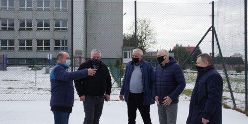 Spotkanie Burmistrza Chmury i Janasa