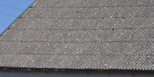 Dach azbest